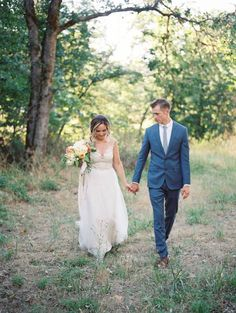 Backyard Summer Wedding in Southern Oregon via Magnolia Rouge