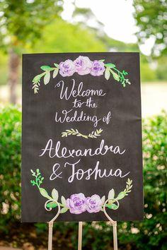 紫のバラがロマンチック♡素敵な結婚式に♡パープルのウェルカムボードまとめ一覧♡