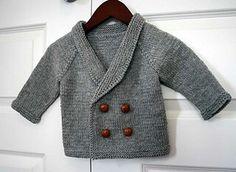 Baby vest breien patroon