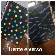 DIY: caderno bolas e zebra