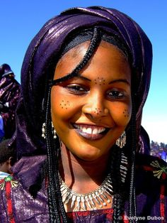 "Africa | ""Miss Touaregue"" 2. Niger.  