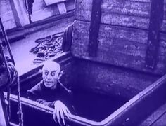 """Screencap of Max Schreck as Count Orlok in the iconic """"Nosferatu"""" Horror Fiction, Horror Films, Nosferatu 1922, Max Schreck, Spooky Music, Movie 20, Haunted Attractions, Halloween Icons, Silent Film"""