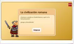 """""""La civilización romana"""" (Historia de 5º de Primaria). Librosvivos S.M."""