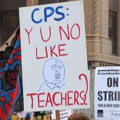 8 Ctu Strike Ideas Teachers Strike Protest Signs Teachers