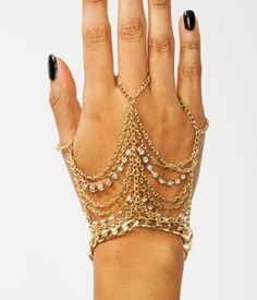 OFF THE CHAIN HAND BRACELET