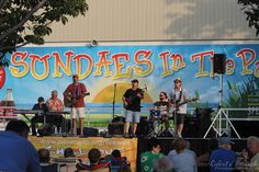 *Sundaes In The Park 2017* Concert Schedule | Join us on Sunday in Northside Park, Ocean City MD for music, ice cream, entertainment, cool sunsets & fireworks... #oceancitycool #ocmd