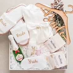 He popped the question and now it's time for her to relax and enjoy the wedding planning fun. Curated Gift Boxes, Bliss, Wedding Planning, Relax, Weddings, Bridal, This Or That Questions, Fun, Handmade