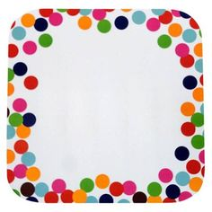 Eric Carle dot plate