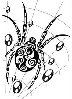 Image result for spiderwebs tattoo designs