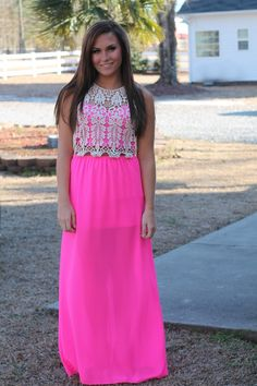 How Forever Feels Maxi: Hot Pink - Off the Racks Boutique