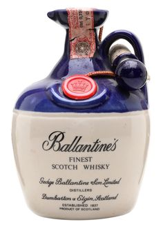 BALLANTINE'S FINEST Bot. 1970s Ceramic Decanter, Scotland