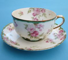 Only one and only for my private coffee breaks Vintage Cups, Vintage China, Vintage Tea, Teapots And Cups, Teacups, Antique Dishes, China Tea Cups, My Cup Of Tea, Tea Service