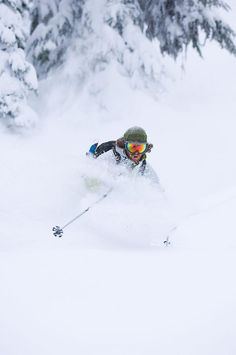 Skiing Powder. Looking for perfect winter holiday? Contact us: http://smart-travel.hr/en/