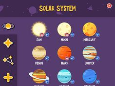 Explore the planets of our solar system. Virtually step into the night sky with this stellar space resource.