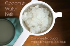 2-ingredient coconut water kefir! Ditch that gatorade and click through for a healthful alternative that's vegan, paleo, no sugar added, gluten-free and probiotic.  Click through to find out how to make it perfect every time! http://phickle.com