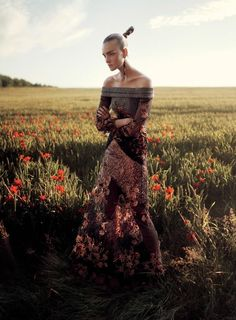 Grace Coddington - Fashion Editor/Stylist Belle Fleur (American Vogue) David Sims - Photographer published: September 2014