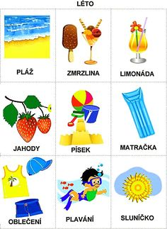 Pro Šíšu: Rocni obdobi - obrazky Month Weather, Weather For Kids, Summer Activities For Kids, Book Activities, Preschool Activities, Language Dictionary, Adult Coloring Pages, Holidays And Events, Seasons