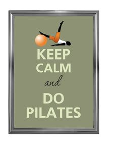 Cute!  Even though this isn't necessarily a Pilates move ...