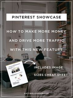 Take advantage of this great new profile feature on Pinterest – showcase! Get the 4-1-1 on setting up your showcase (including correct image sizes) and ideas for creatively using it for bloggers, influencers and small business owners.