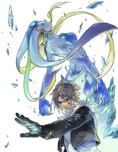 Final Fantasy VIII..my absolute favorite.. in fact..squall is my first childhood crush :3
