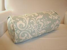 TUTORIAL:  how to sew a custom bolster-cushion cover