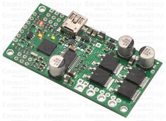 Pololu Simple High-Power Motor Controller 18v25 The Pololu Simple High-Power Motor Controller makes basic control of brushed DC motors easy, with our free Simple Motor Control Center software enabling quick configuration over USB.