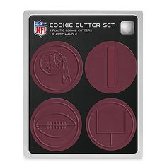 NFL Cookie Cutter Set in Washington Redskins