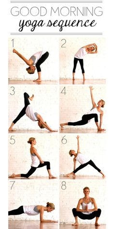 Easy Morning Yoga Routine - yoga in the morning; good for the soul.