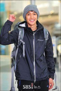 "Kim Hyun Joong in ""Barefoot Friends"" Filming"