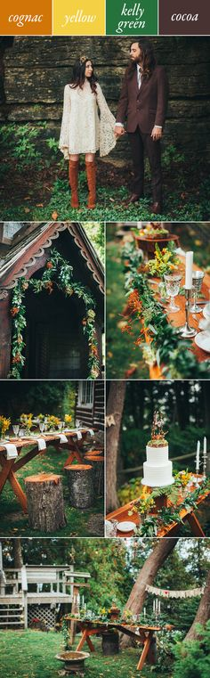 Cognac, yellow, green and brown | Artemis Photography