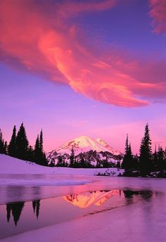 Lovely sunset.
