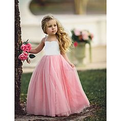 Pink-White Patchwork Grenadine Draped Backless High Waisted Daddy Daughter Dance Cute Maxi Dress Source by rosechoics daughter Dance dresses Cute Maxi Dress, Tulle Dress, Little Girl Dresses, Flower Girl Dresses, Princess Dresses, Daddy Daughter Dance Dresses, Dollcake Dresses, Robes Tutu, Dusty Rose Dress