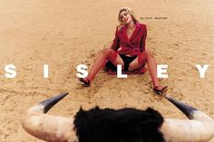 One of many banned Sisley adverts, shot by Terry Richardson