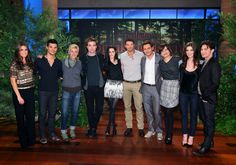 BD cast on Ellen.