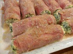 Rolls of ham   Involtini di prosciutto cotto   Passione Commestibile