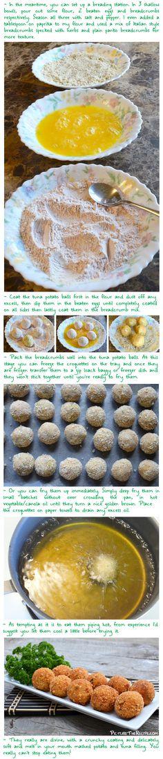 Tuna Potato Croquettes 2