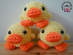 Ravelry: Doodle Zoo 1: Doodle the Duckling pattern by Heather C Gibbs.. Free pattern!