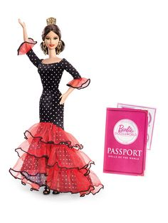 Spain Barbie Doll by Barbie Collector