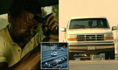 People V OJ Simpson episode recreates slow car chase through LA | Daily Mail Online