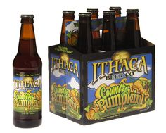 Had this nice and smooth pumpkin ale tonight at dinner, Ithaca Country Pumpkin Ale (IBC, NY)