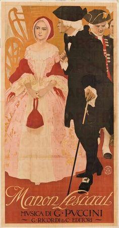 Leopoldo Metlicovitz Manon Lescaut, 1907