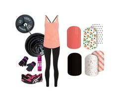 workout in style! #jamberry #jamicure #peaches&cream #picnicparty shop now at: abodenhemier.jamberry.com