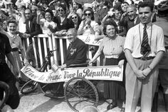 <strong>Not published in LIFE.</strong> Parisians celebrate the liberation of the City of Light, August 1944.