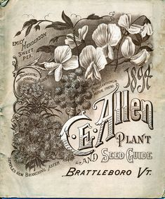 The Story of the Millennium Seed Bank Project + Gorgeous Vintage Seed Catalog Cover Artwork – Brain Pickings Garden Catalogs, Seed Catalogs, Vintage Labels, Vintage Posters, Vintage Art, Vintage Ephemera, Vintage Type, Vintage Prints, Vintage Gardening