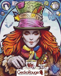 The Mad Hatter Cross Stitch Counted Cross Stitch Kit Omri