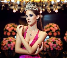 Arnela Zeković is Miss Serbia for Miss Universe 2014 pageant Miss Universe 2014, Miss World, Beauty Pageant, Make Up, Crown, Model, Inspiration, Jewelry, Royals