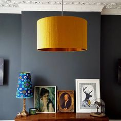 Are you interested in our brushed copper silk lampshades? With our mustard silk gold lampshade you need look no further.