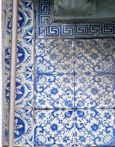 Azulejos antigos no Rio de Janeiro: Centro LIV - rua Gonçalves Dias