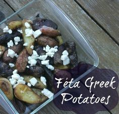 Feta Greek Fingerling Potatoes