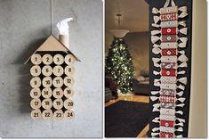 Come riciclare i rotoli di carta igienica: calendario dell'avvento